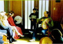 The bodhran workshop